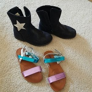 Lot of girl's shoes size 12